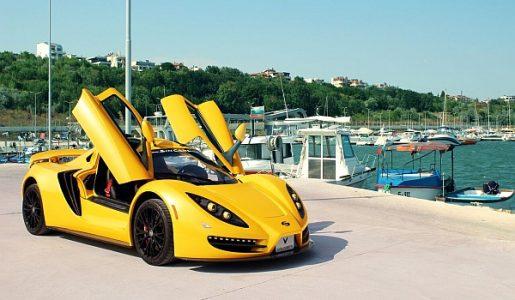 българската супер кола Sin R1